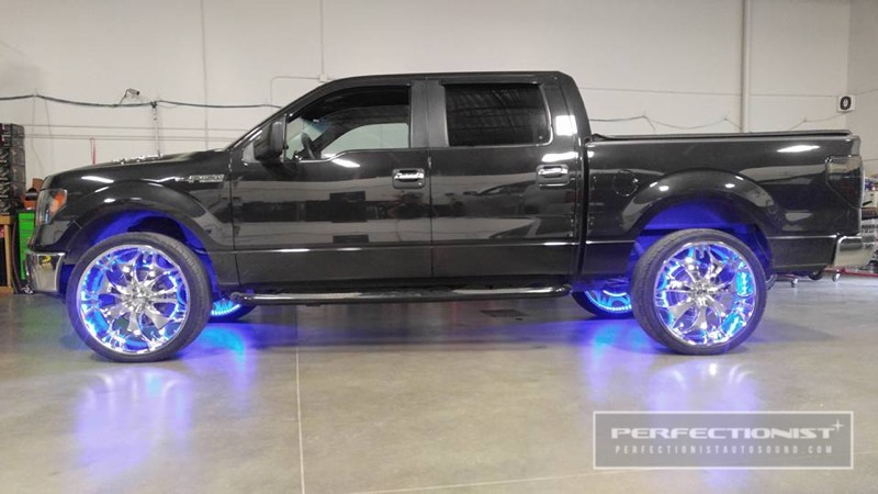 Anchorage Client Adds Oracle Light Rings To 2017 F150
